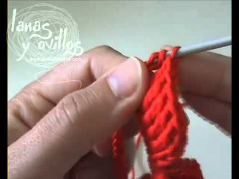 Tutorial Rosa Crochet Paso A Paso En Espanol Crochet Pinterest