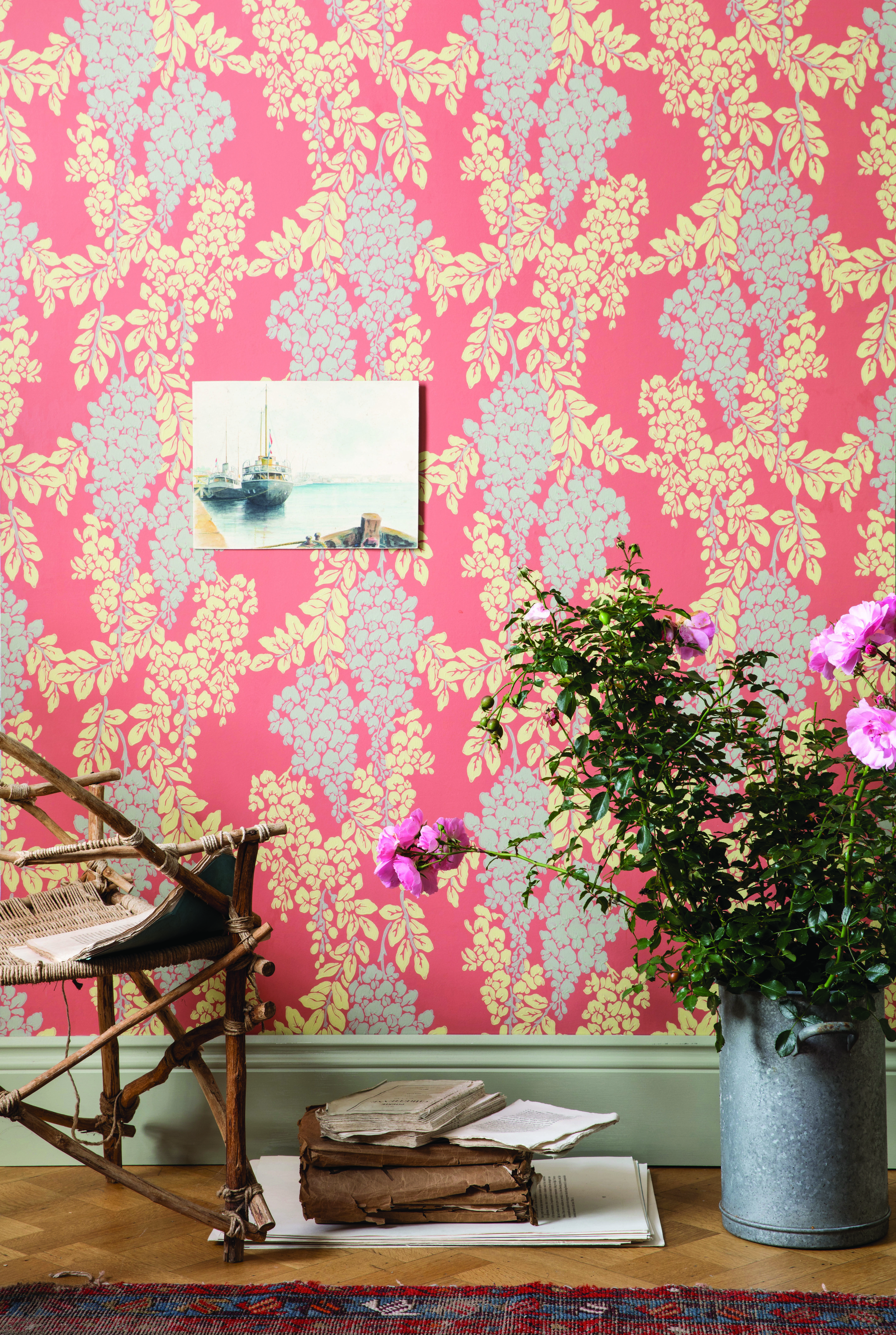 Farrow Ball Craftsmen In Paint And Paper Farrow Ball Farrow Ball Painting Wallpaper Craftsman
