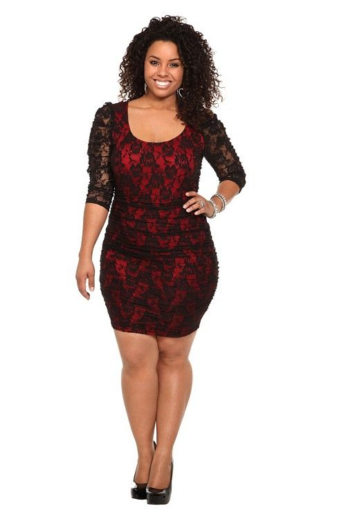 Say yes to the dress black lace dress