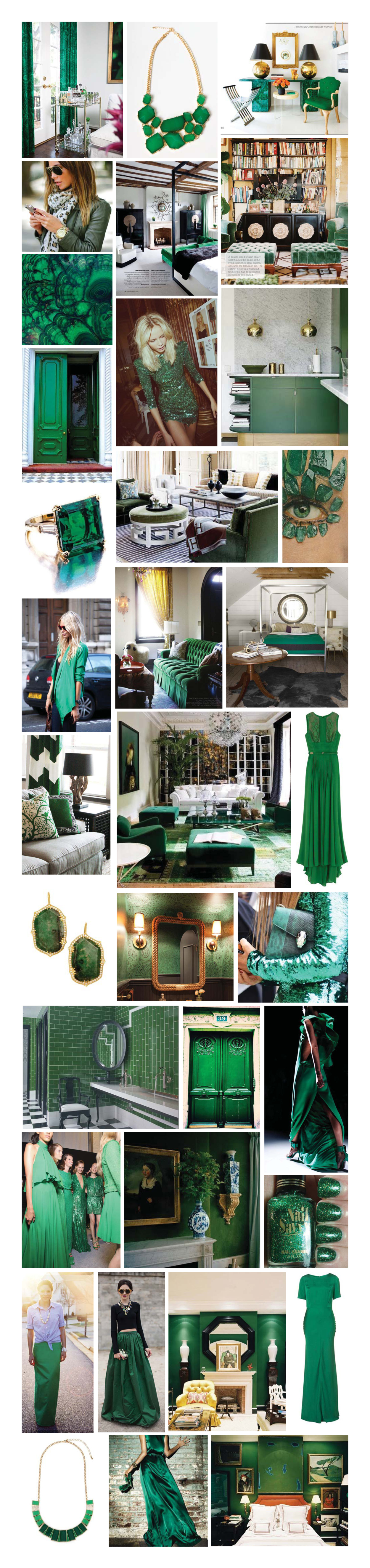Color of the year = Emerald!