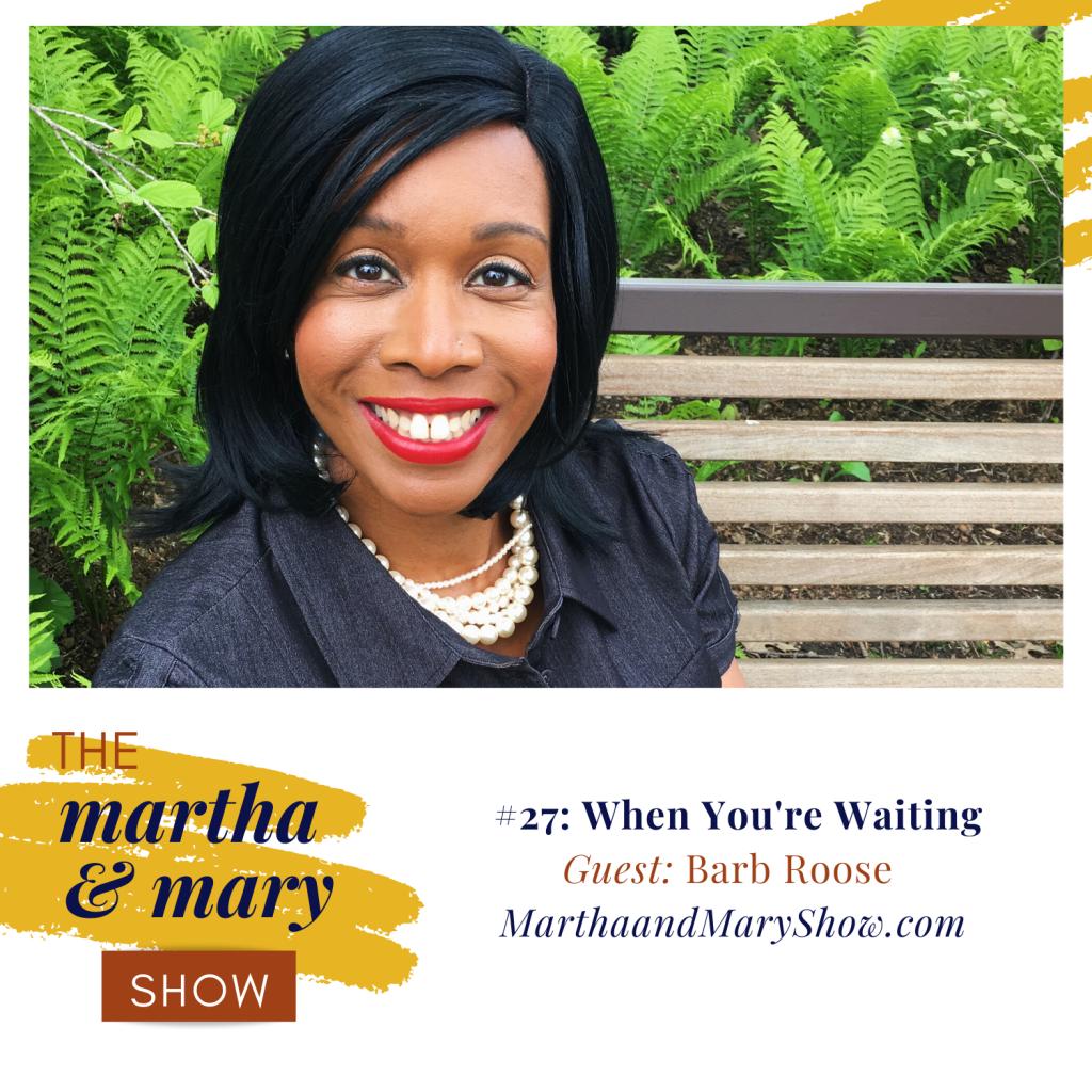 Barb Roose Speaker Bible Study Teacher Interview Martha