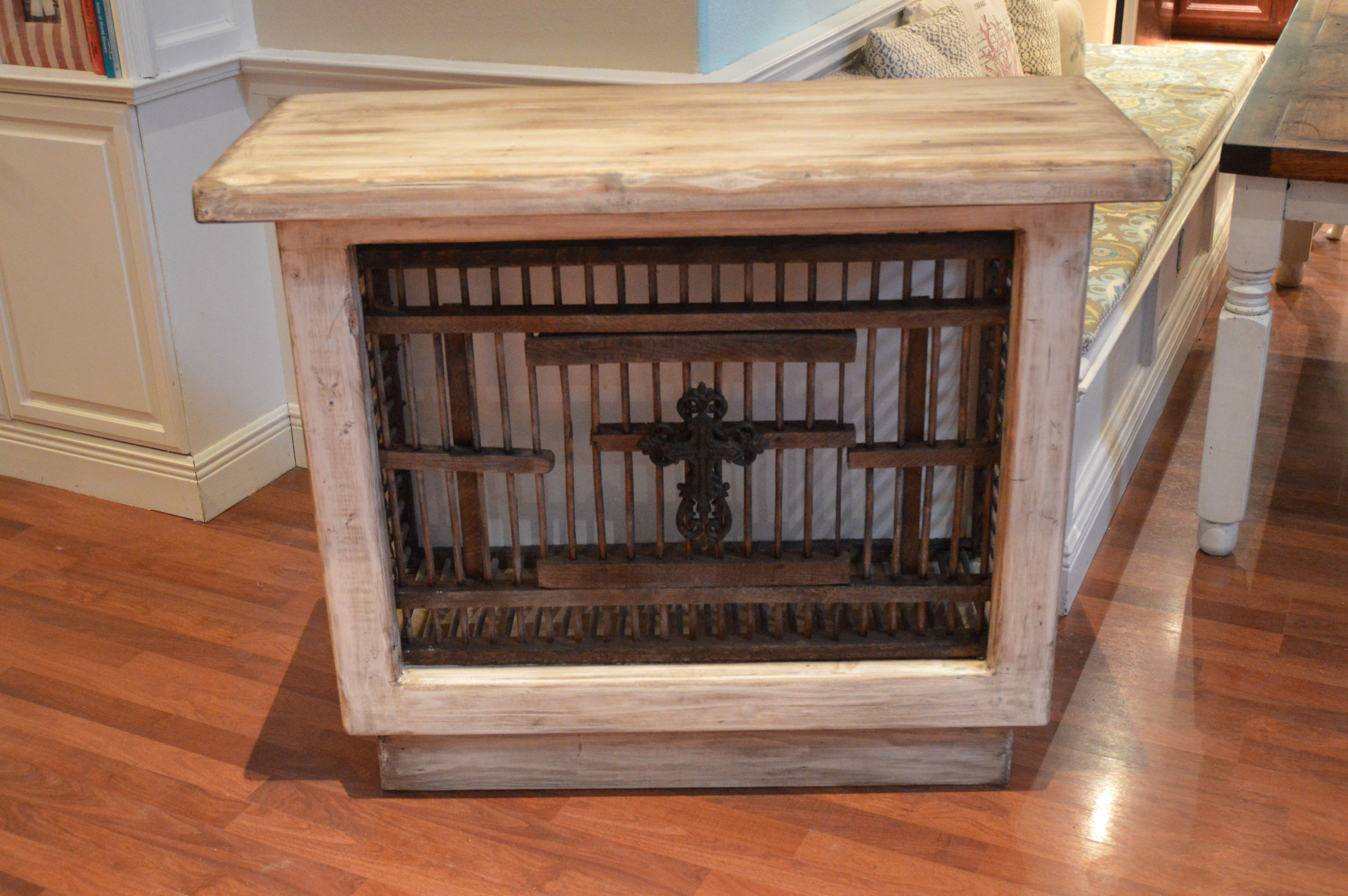 Rustic Home Decor - This was built using an old chicken crate!