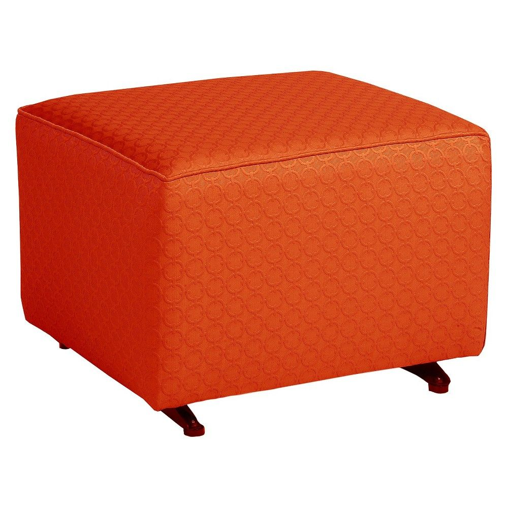 Little Castle Gliding Ottoman - Halo Tiger Lily