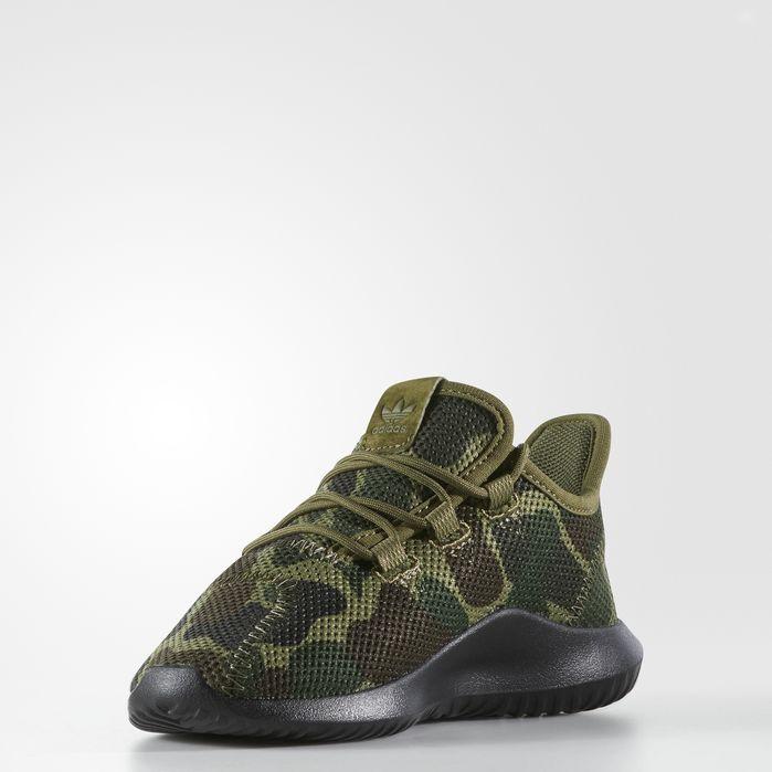 new products 25b71 00735 Tubular Shadow Shoes Dark Green 13K Kids | Products | Adidas ...