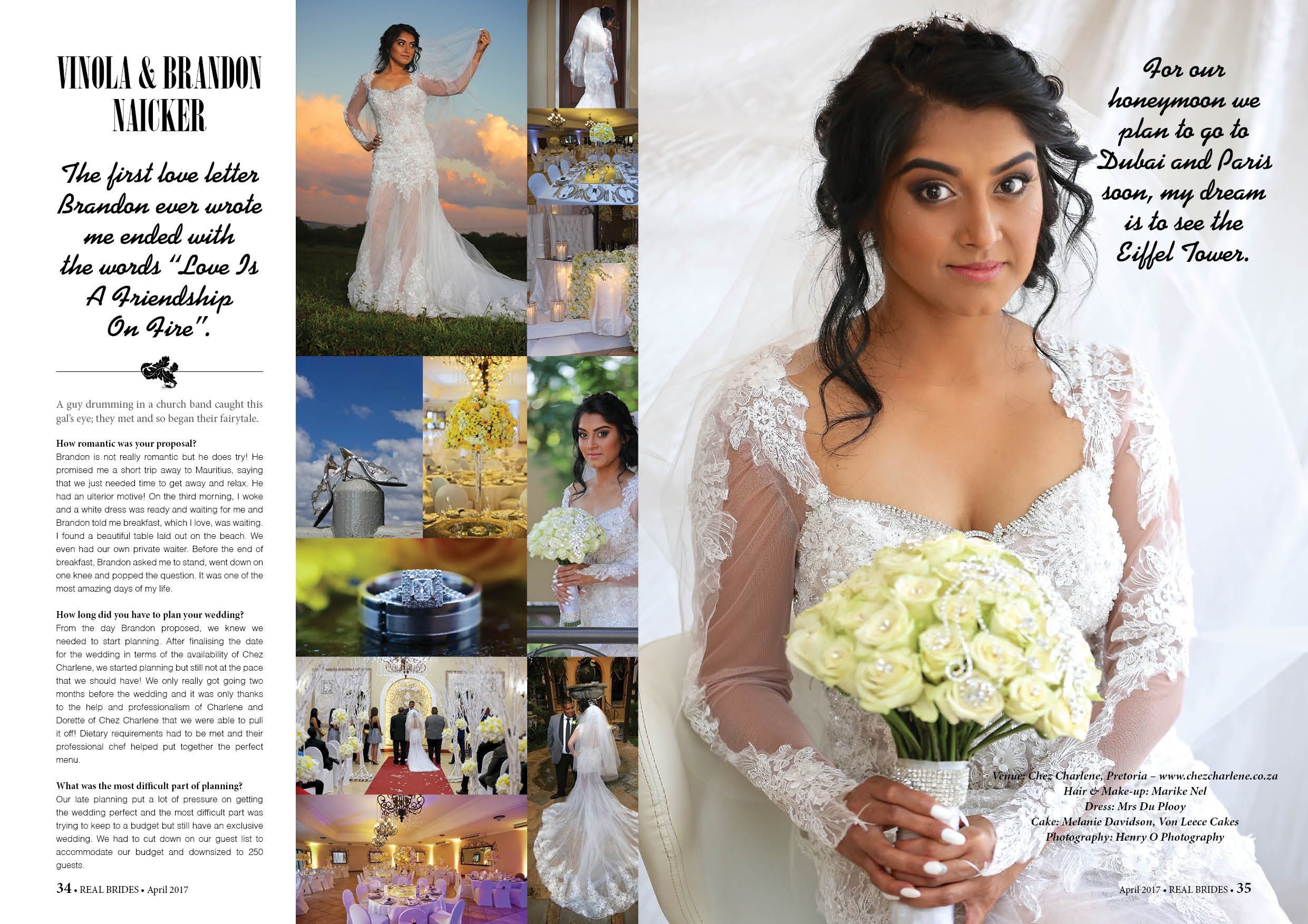 Chez Charlene 5 Star Wedding Venue - Pretoria East ...