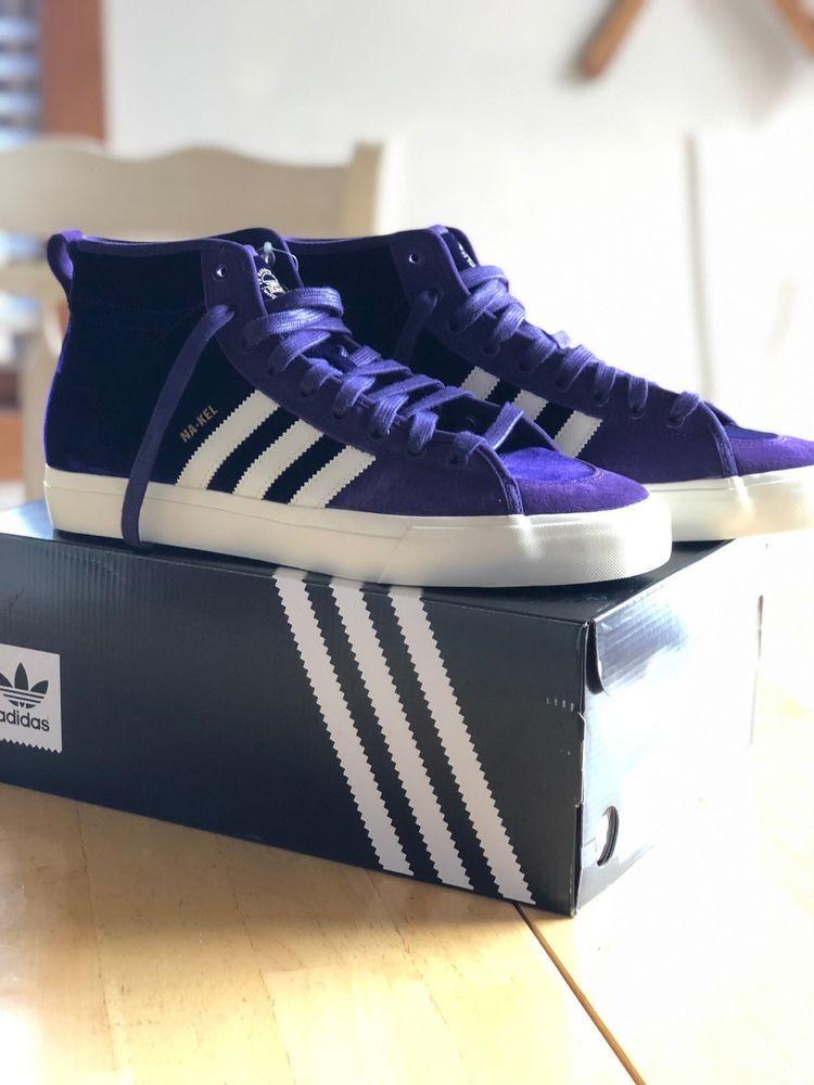 Adidas Matchcourt High RX Mens Size 10 PurpleWite (NA KEL