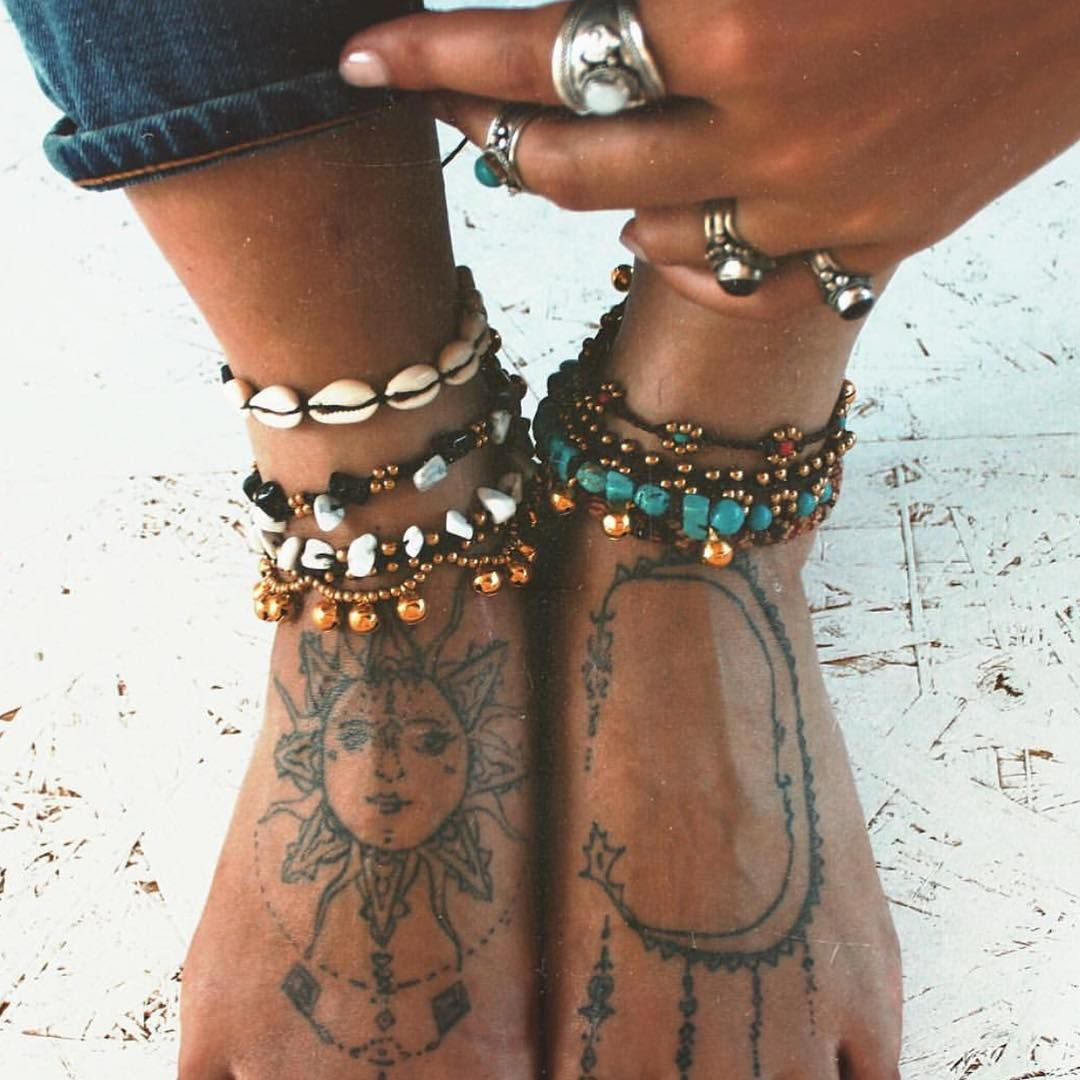 Shannonleannee tats pinterest tattoo boho and anklet