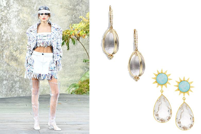Inspired By Chanel Transparent Jewelry Is Clearly Trending