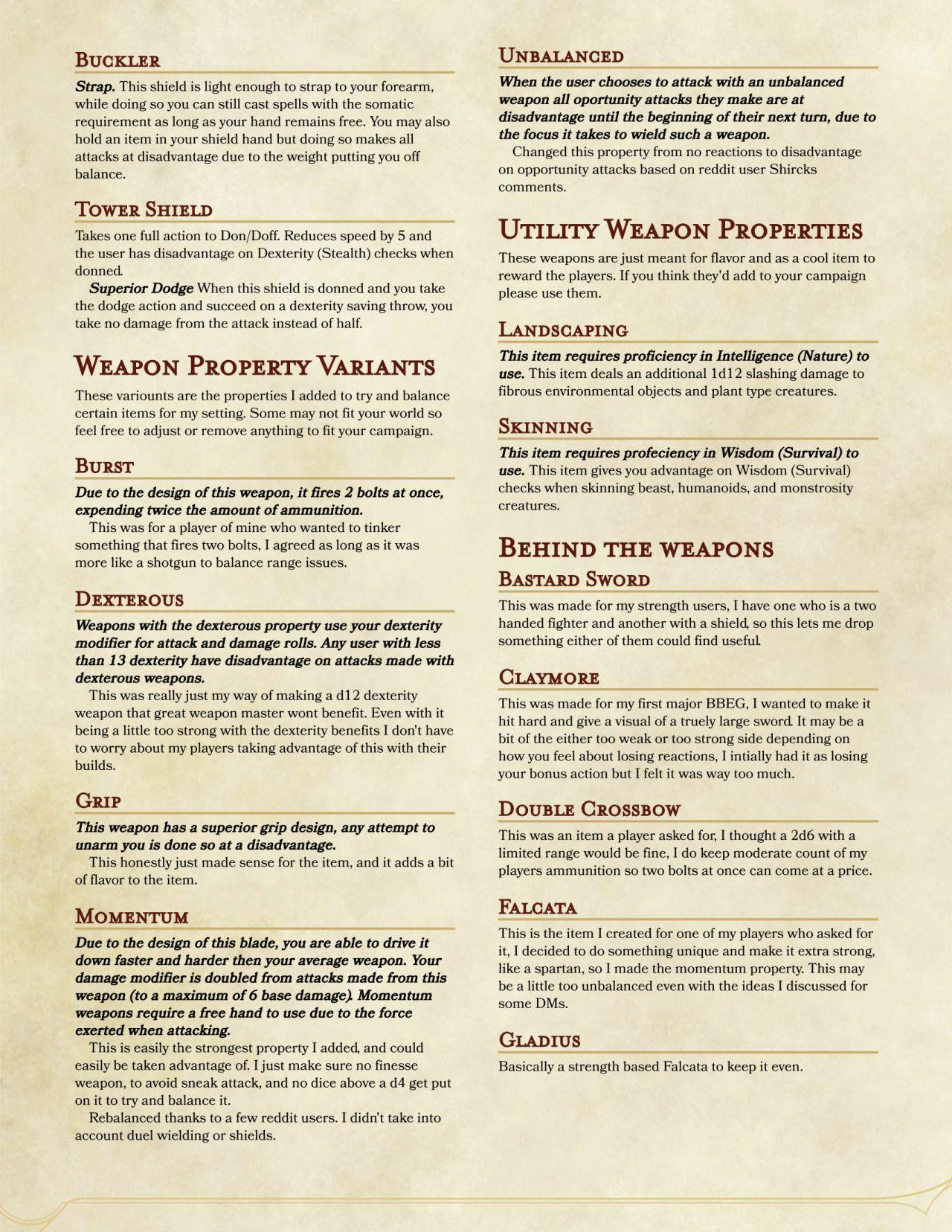 DnD 5e Homebrew | DM Ideas | Pinterest | Dnd 5e homebrew, RPG and ...