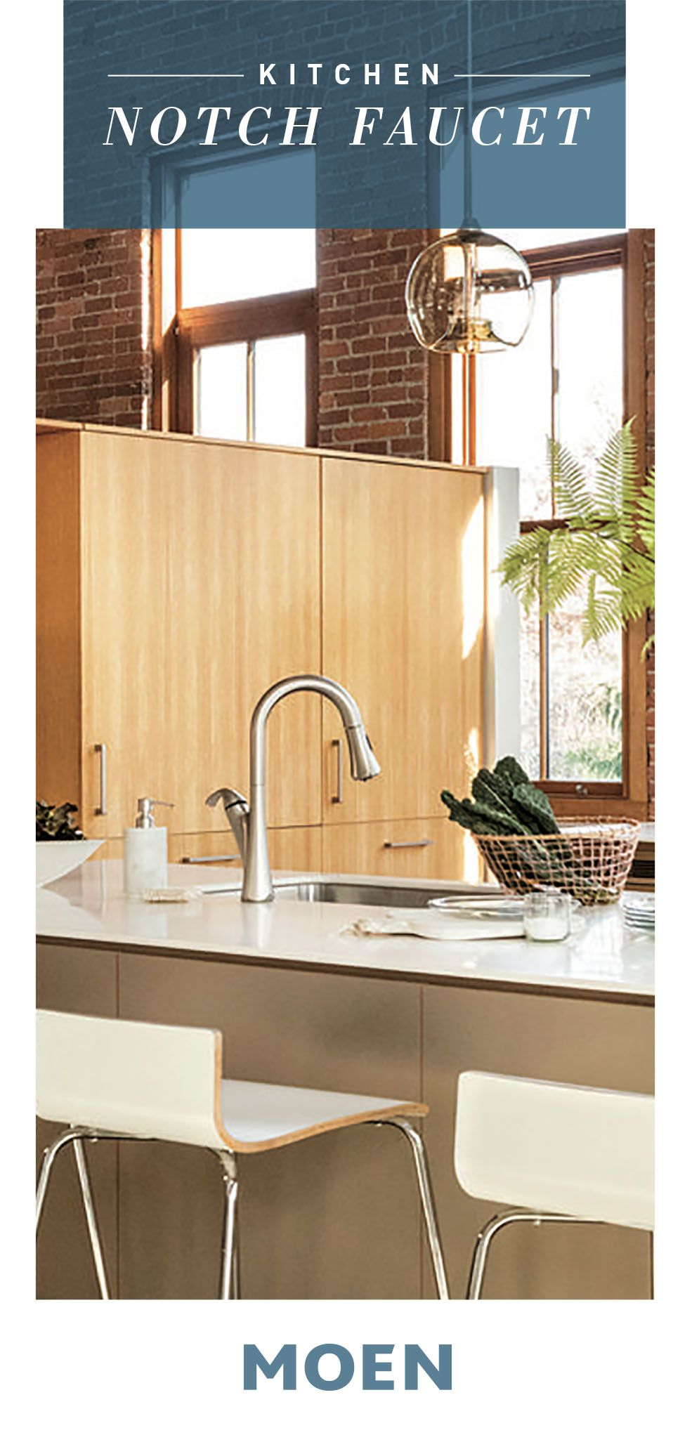 Notch Spot Resist Stainless One Handle High Arc Pulldown Kitchen