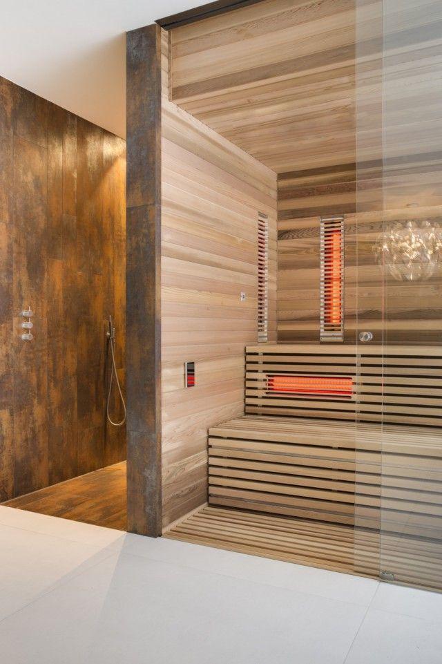 12 Wellness badezimmer mit sauna