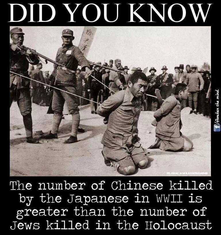 the forgotten holocaust china