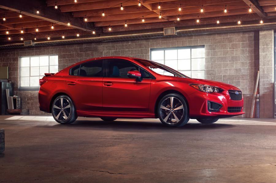 2017 Subaru Impreza Sport Makes an Awkward Early