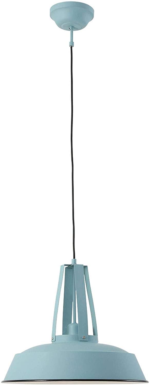 Pendelleuchte Steinhauer Luna 7704bl Blau Industrie