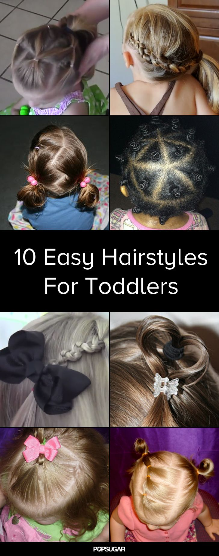 10 easy-to-master hairdos for your impatient toddler | hair style