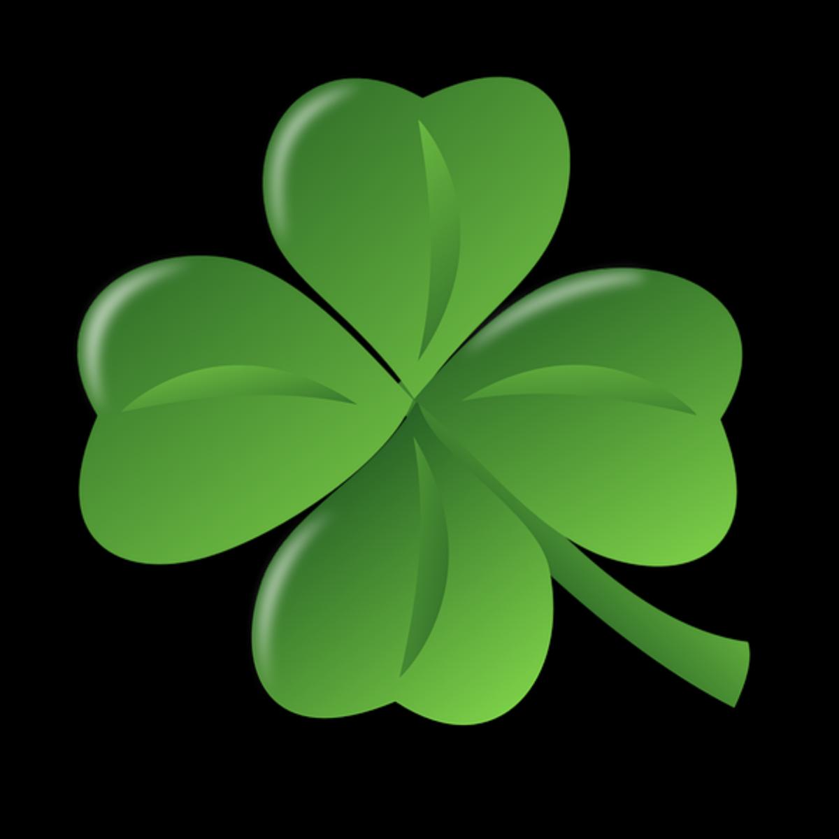 Four Leaf Clover Advocate4autism S Artist Shop Four Leaf Clover Tattoo St Patricks Day Wallpaper Clover Leaf