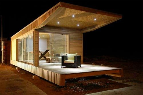La zen house une maison de bois transportable made in tunisia