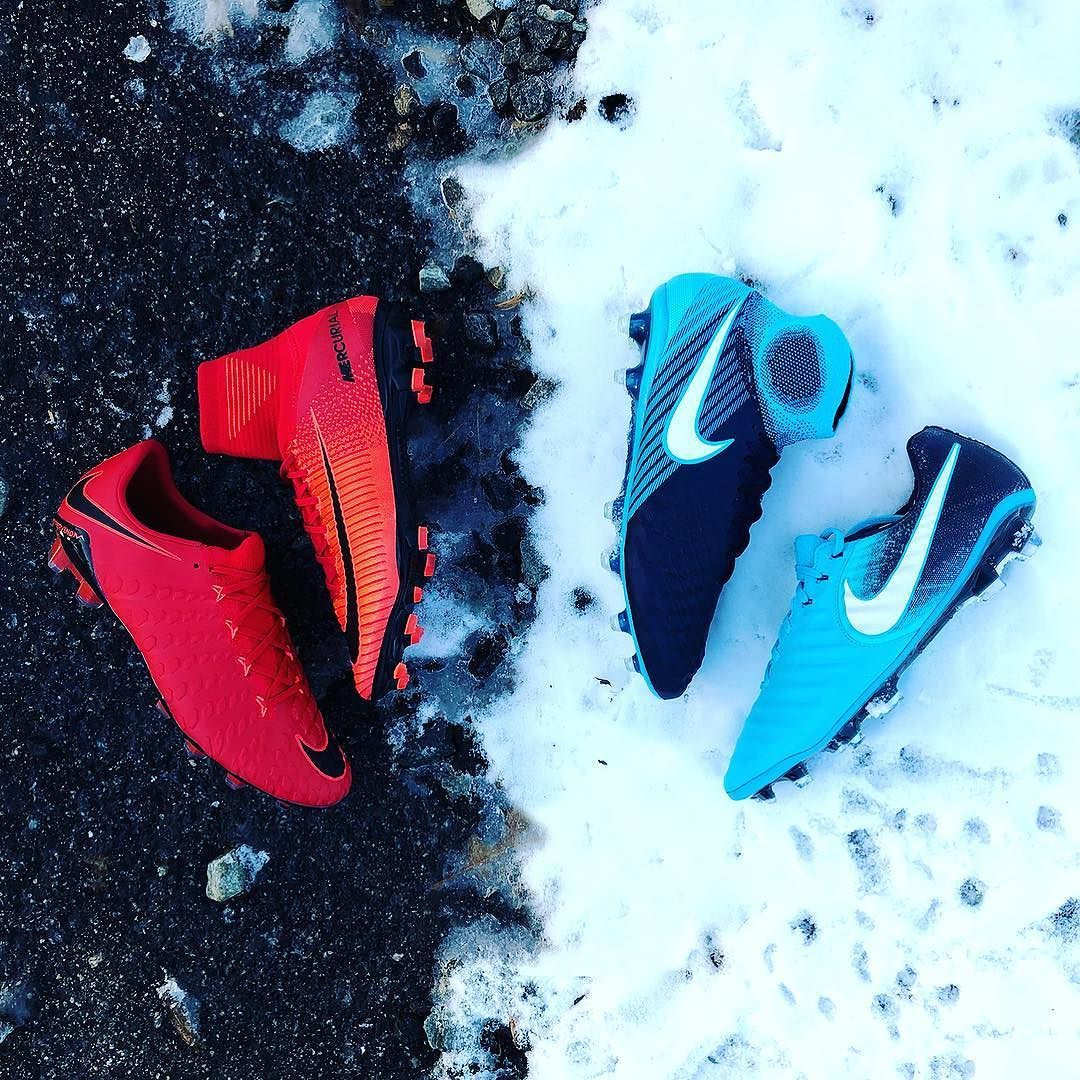 f2bbf265df79d Bring the heat or freeze them up. Start the year right by saving on 🔥 or ❄  now at the link in the bio. —  soccerdotcom  soccer  nike  nikefootball ...