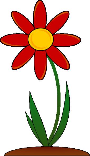 White Flower Clipart Free Flower Clipart Flower Drawing Cartoon Flowers