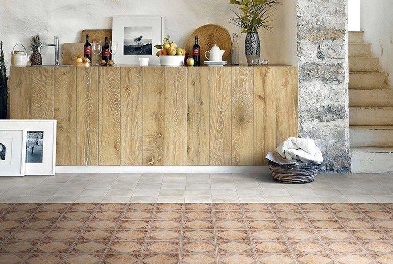 Ecological porcelain stoneware floor tiles: Memory Mood