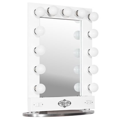 Broadway lighted table top vanity mirror make up vanity broadway lighted table top vanity mirror mozeypictures Choice Image