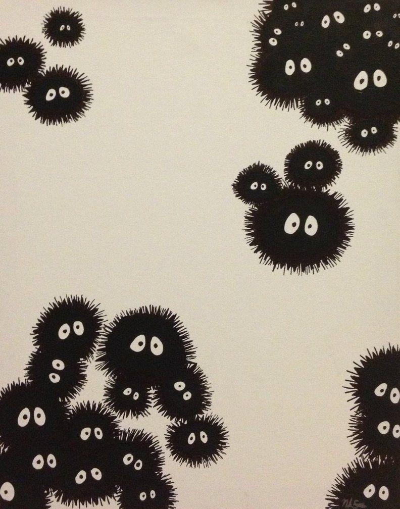 spirited away dust balls