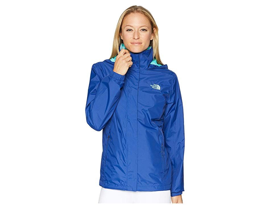 76ef1aaa2 The North Face Resolve 2 Jacket (Sodalite Blue/Mint Blue) Women's ...