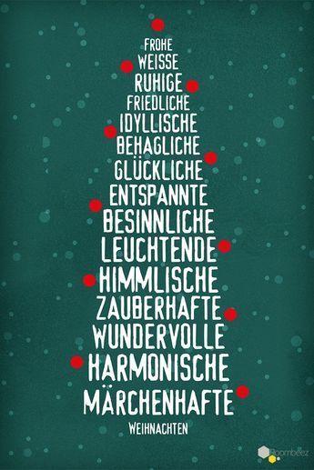 Weihnachtsgrüße » Sprüche zu Weihnachten downloaden | OTTO #beautifulnature