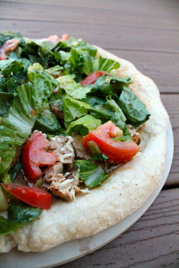 Caesar Salad Pizza—all of our fave things in one (vegan) dish.