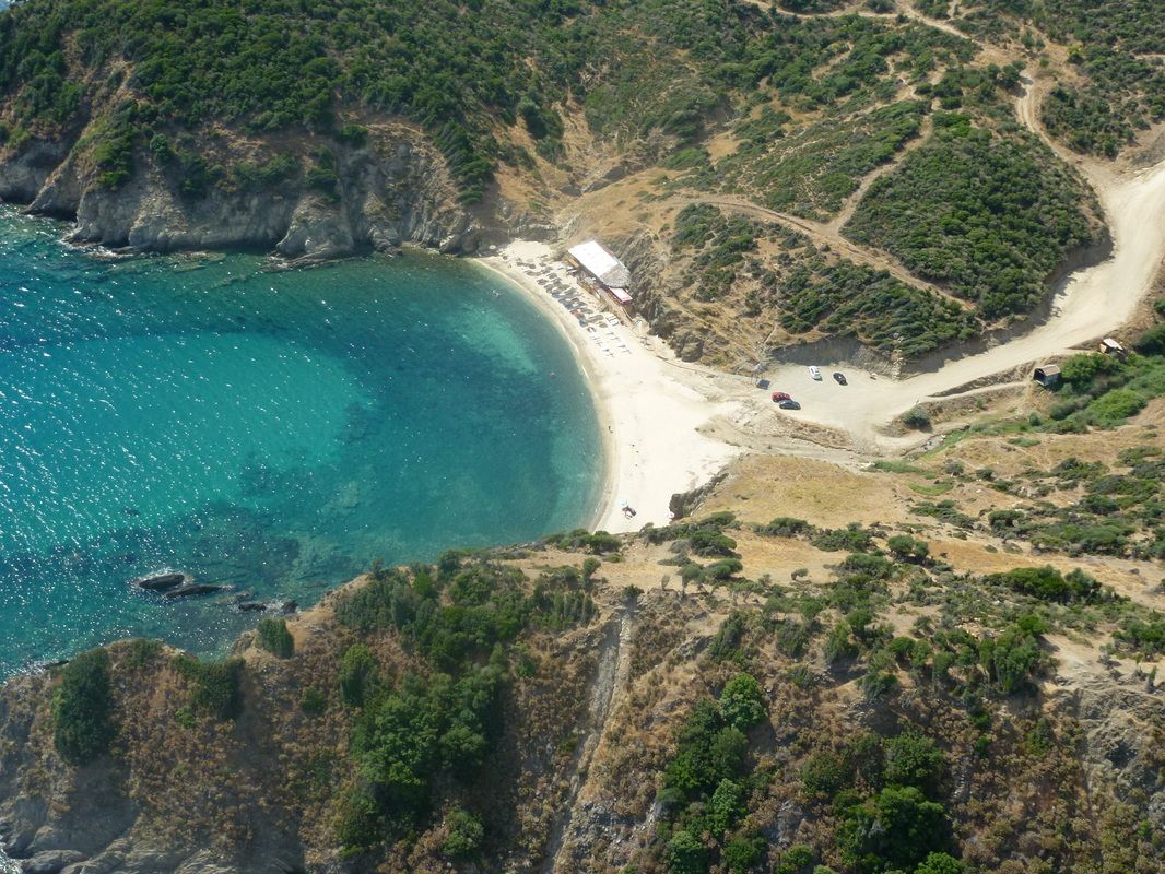 kavourotrypes beach camping halkidiki greece the great