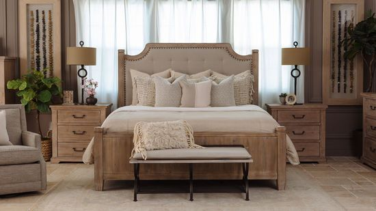7f1bb929ee Casual Tufted Bed in Cypress | Bedrooms in 2019 | Tufted bed, Small ...