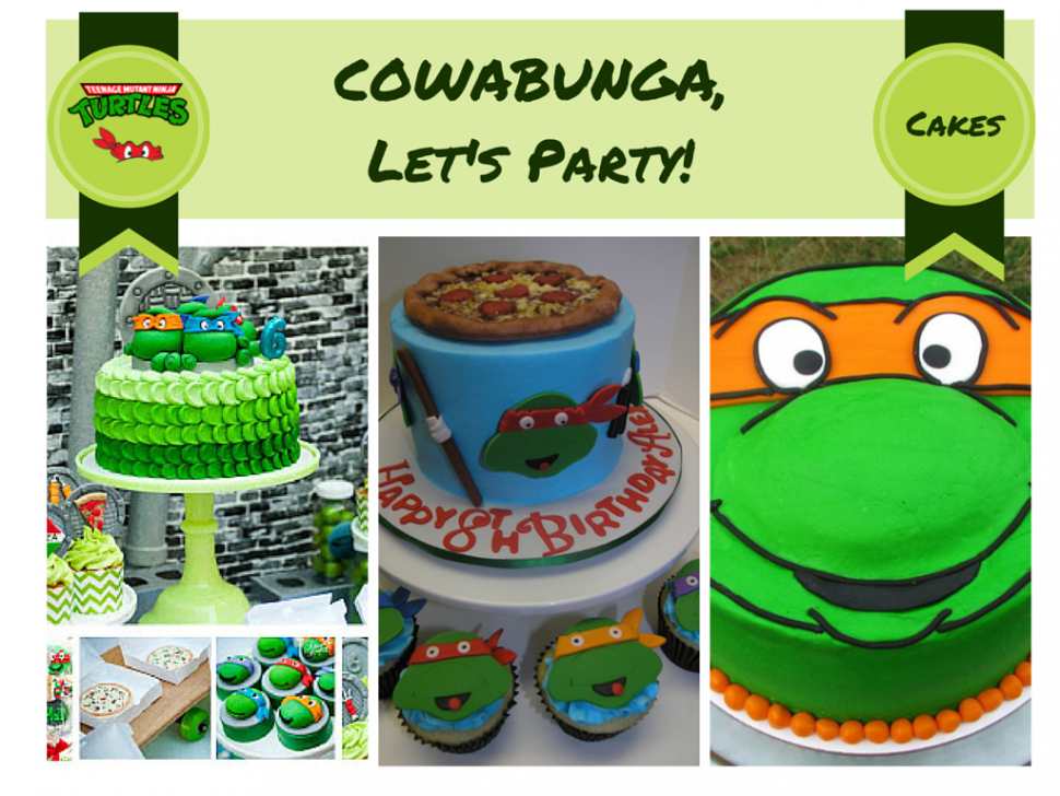 Ninja Turtles Cake ideas