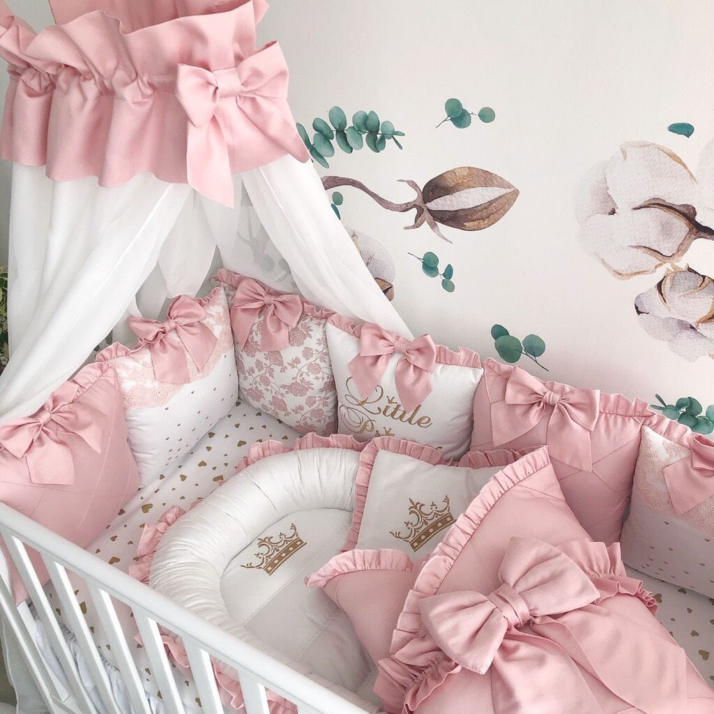 Baby Girl Crib Bedding Set Luxury Crib Bedding Baby Nest Crib