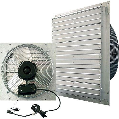 """20"""" Wall Mount Industrial Exhaust Fan Ventilator Green"""