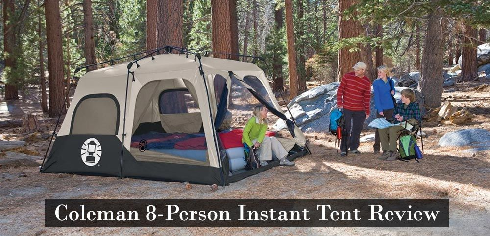 Coleman 8 Person Instant Tent & Coleman 8 Person Instant Tent | CAMPING TENTS | Pinterest | Tents