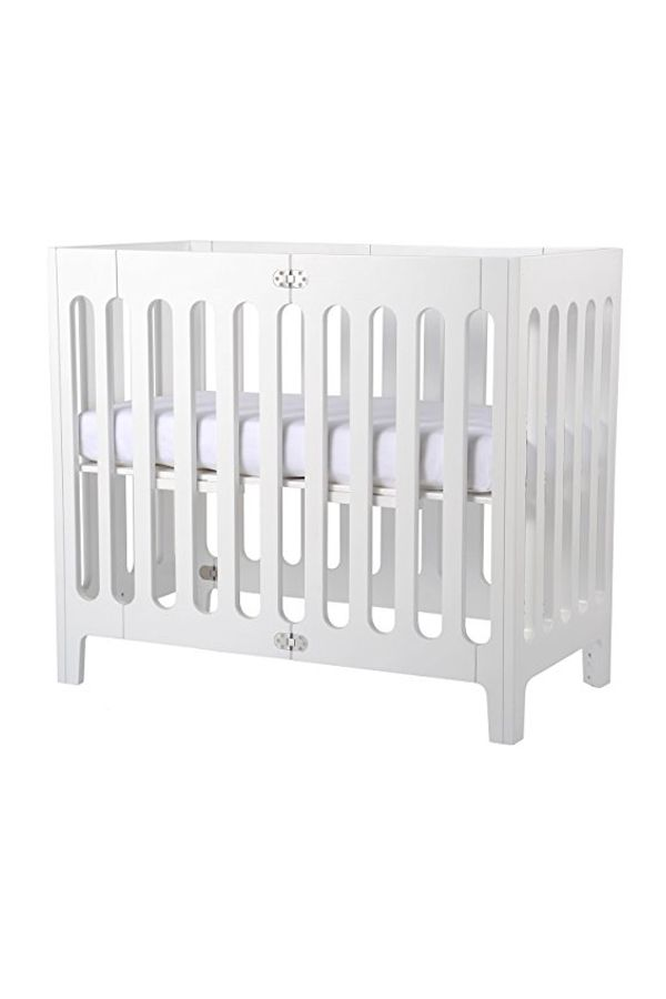 Bloom Alma Mini Urban Crib Frame Coconut White | BABY NURSERIES ...