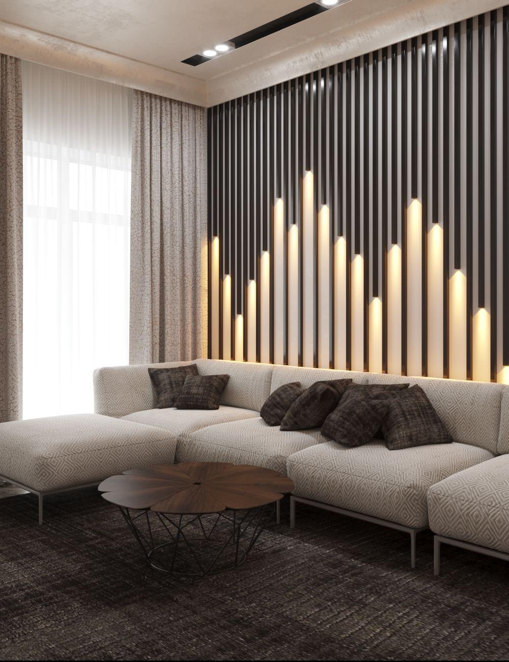 Dlya Sebya Wall Paneling Ideas Living Room Drawing Room Wall Design Room Interior