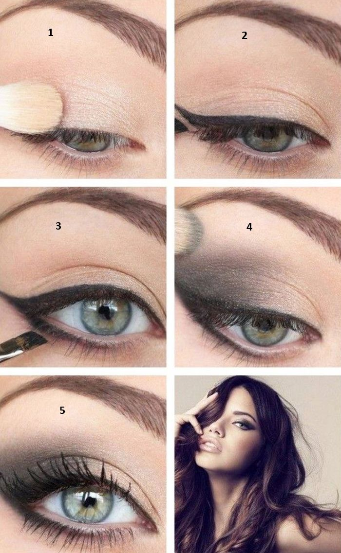 Smokey Eye Makeup For Small Eyes Eye Makeup Steps Skin Makeup