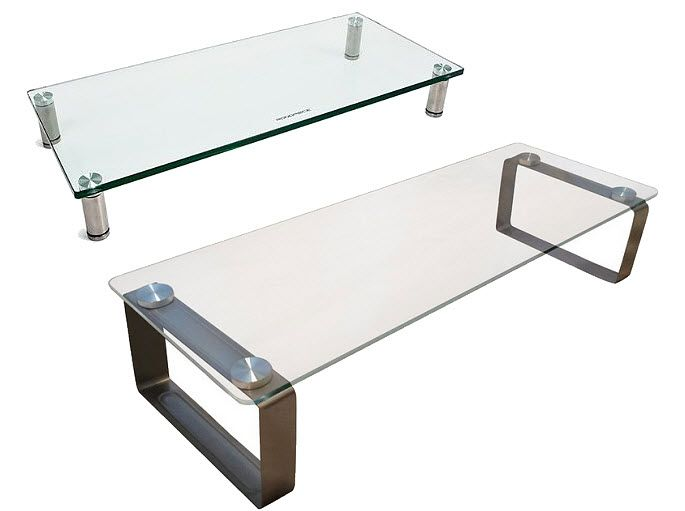 Glass Monitor Stand Finda, Glass Monitor Stand
