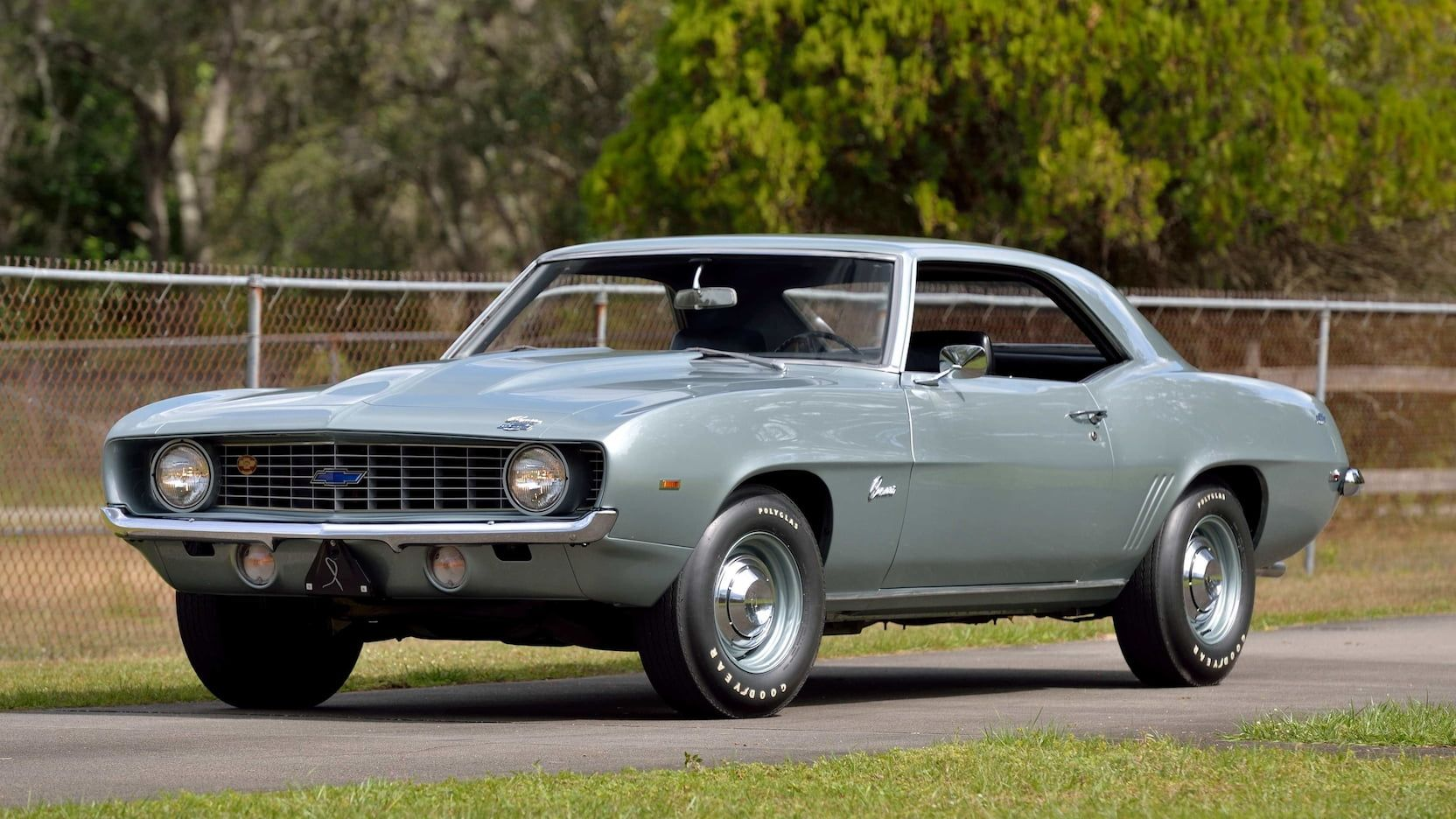 1969 Chevrolet Camaro Zl1 Presented As Lot S171 At Kissimmee Fl