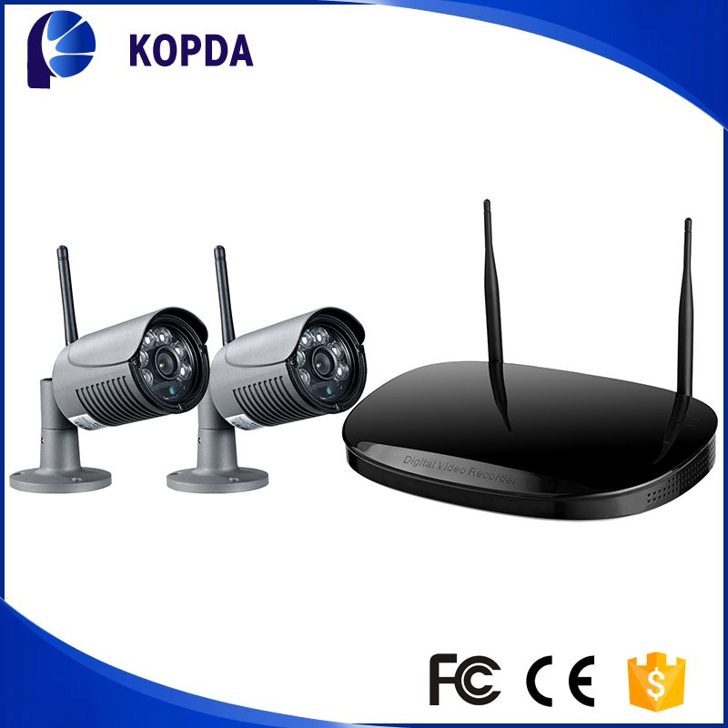 Home Outdoor Security Wireless Bullet Ip Camera Video Recorder ...