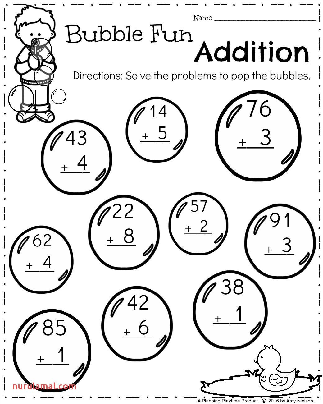 Addition Worksheets For Grade 1 With Regrouping In