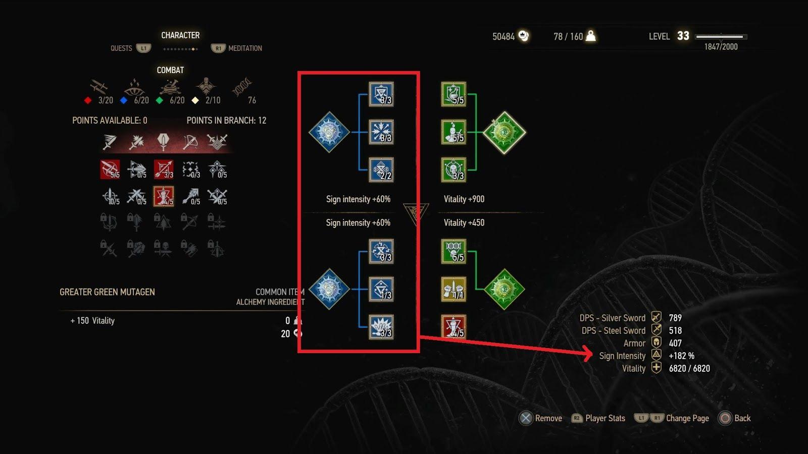 Witcher 3 Rotes Mutagen