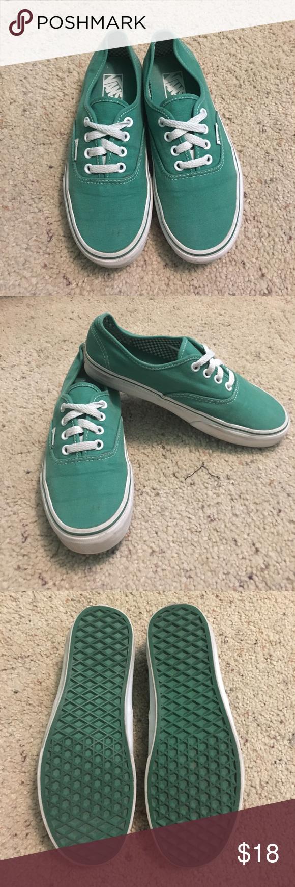 Green Vans | Green vans, Vans, Sneakers