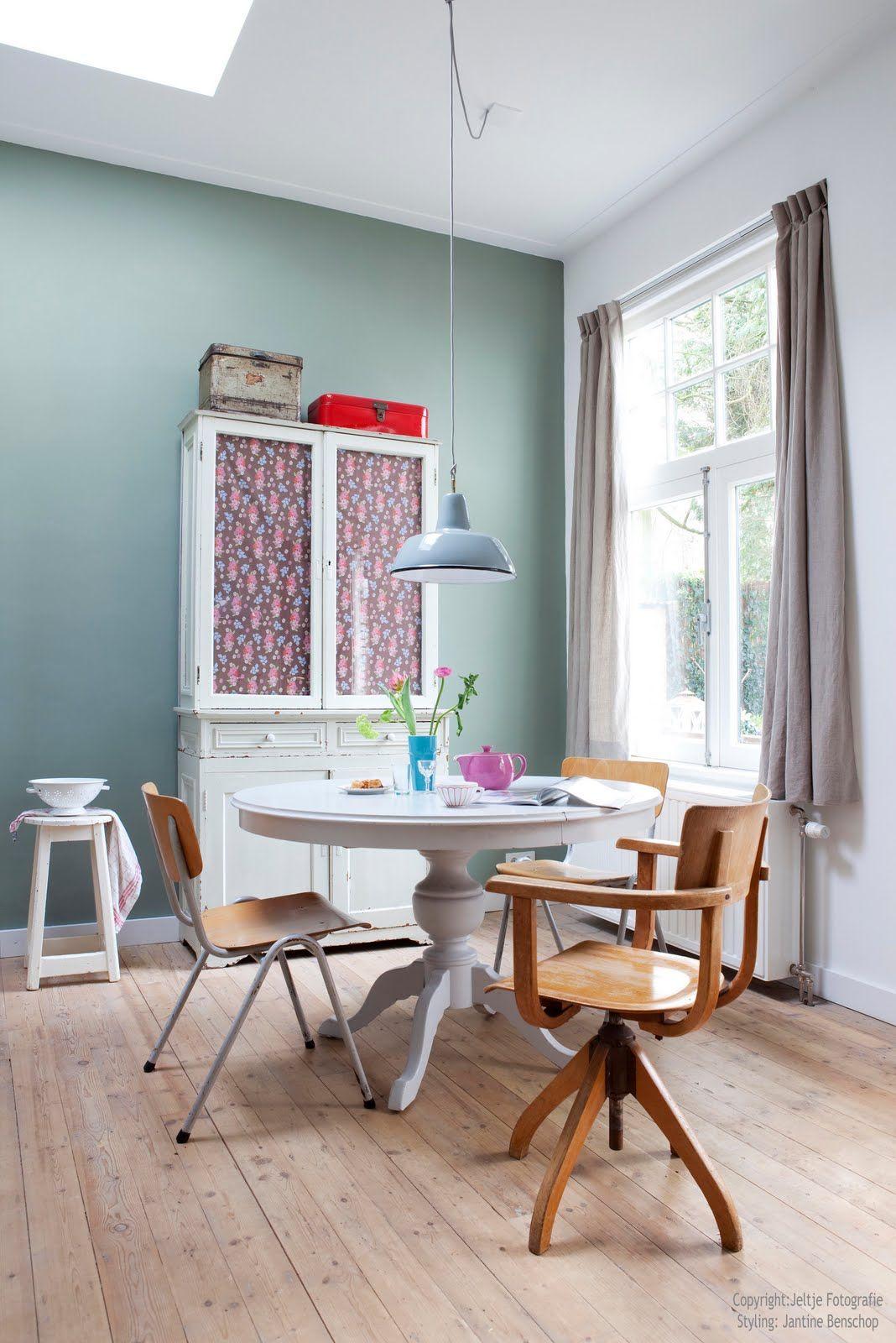 Die Mint-Grüne Zeit! #KOLORAT #Wandgestaltung #Küche #Esszimmer ...