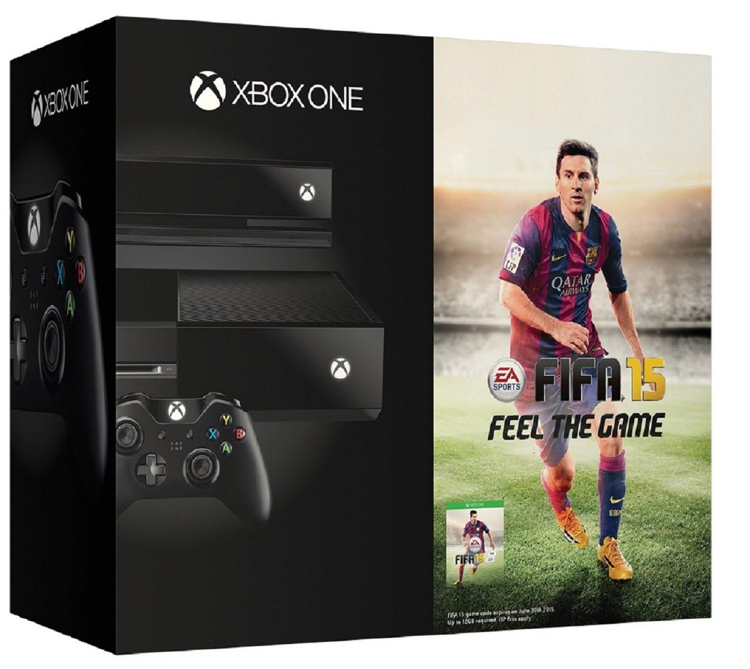 Xbox One Console With Kinect Day Edition Free Games Fifa 15 Hp Slate 7 Voicetab 16 Gb 3g Silver
