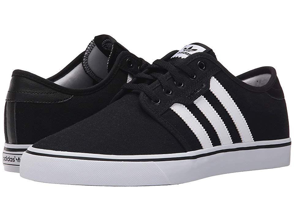 36b1363e196 adidas Skateboarding Seeley (Black White Black) Men s Skate Shoes. Skate  with