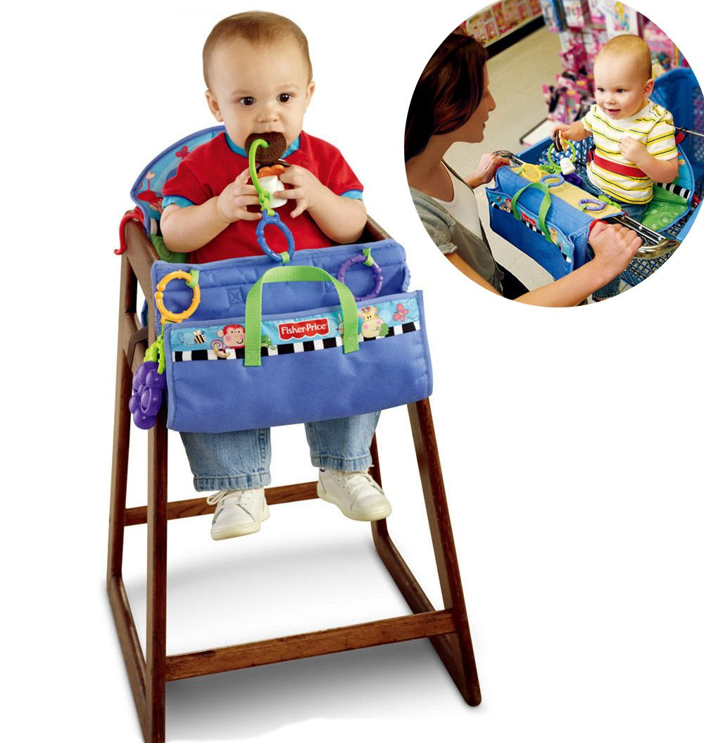 Fisher Baby Shopping Cart Covers Seat Cushion Stroller Seat Covers ...