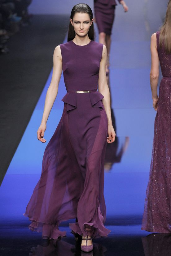 Elie Saab Lavender Dress