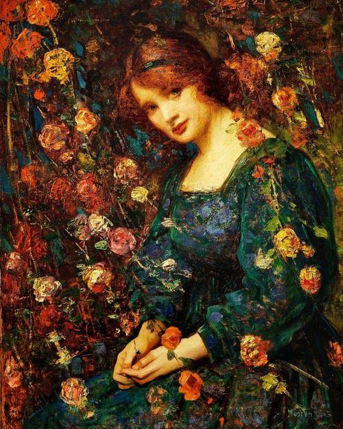 Thomas Edwin Mostyn : Flora